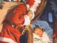 20 примеров рождественской винтажной рекламы прошлого века