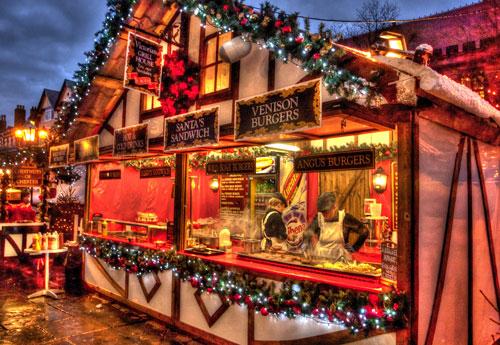 Christmas Burgers
