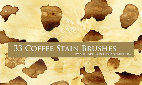 Скачать Coffee Stain Brushes