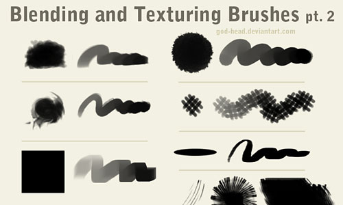 Скачать Blending And Texturing Brushes