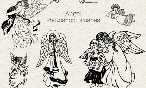 Скачать Ps Brushes Angels