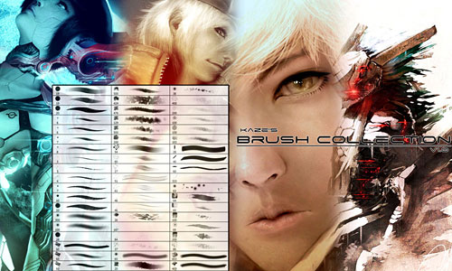 Скачать Photoshop Brush Collection