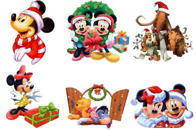 Скачать Cartoon Christmas Icons