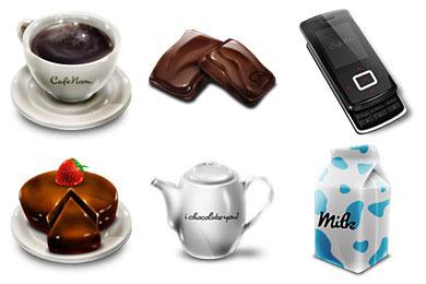 Скачать Cafe Noon Icons