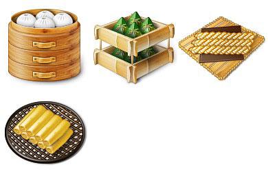 Скачать Chinese Traditional Food Icons