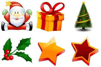 Скачать Merry Christmas Icons
