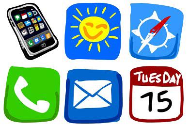 Скачать Hand Draw Iphone Icons