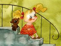 Очаровательные детские мультяшки от художницы Виктории Кирдий