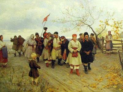 Wedding In Kiev Province