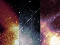 Скачать бесплатно текстуры с изображениями космоса и галактик