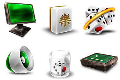 Скачать Mahjong Icons By Jommans
