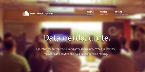 Перейти на Data Driven London