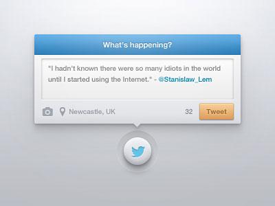 Twitter Widget by Piotr Kwiatkowski