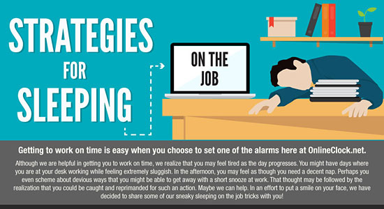 Sleeping At Work Infographic
