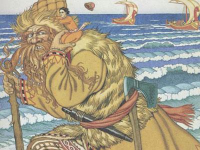 Иллюстрация к сказке Соль