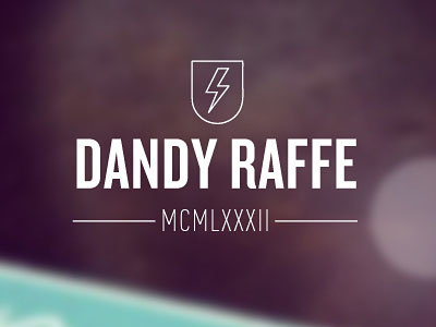 Dandy Website by Robert van Raffe