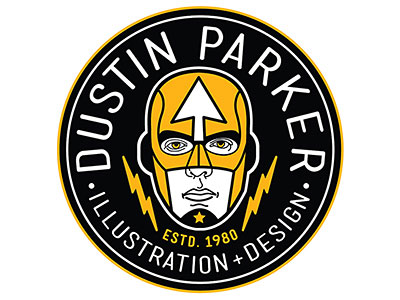 DUSTIN PARKER HERO LOGO by Dustin Parker