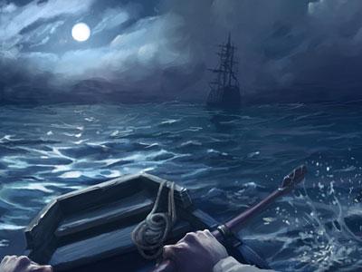Перейти на Побег С Корабля