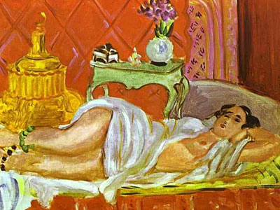 Odalisque, Harmony in Red
