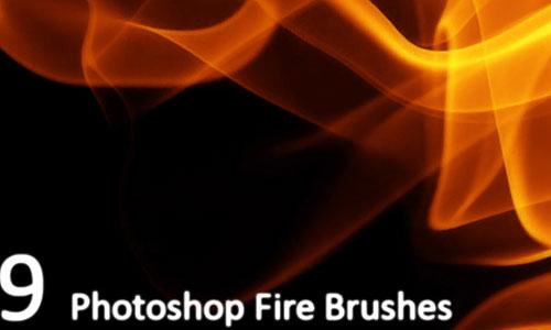 Скачать 9 Fire Brushes