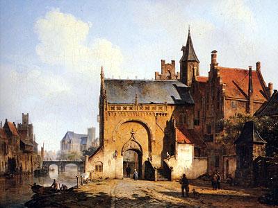 Перейти на Fantasy cityview of Maassluis