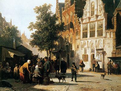 Перейти на Marketview with cityhall Woerden