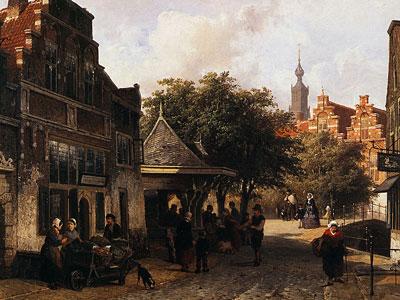 Перейти на View of Oudewater