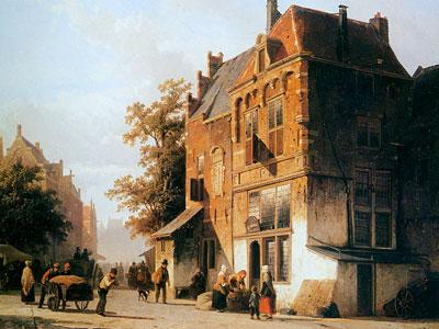 Перейти на Westermarket in Amsterdam