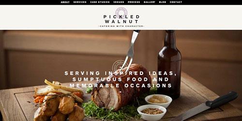 Перейти на Pickled Walnut Catering