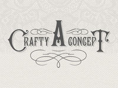 A Crafty Concept Logo Design