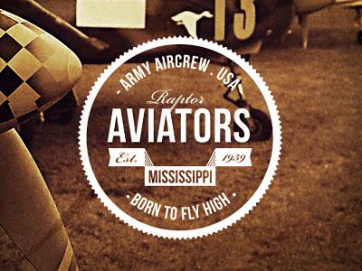 Retro Aircrew Badge