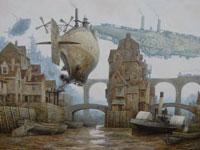 Викторианская фантастика от художника Вадима Войтехович