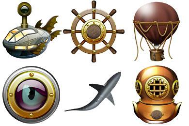 Перейти на Jules Verne Icons