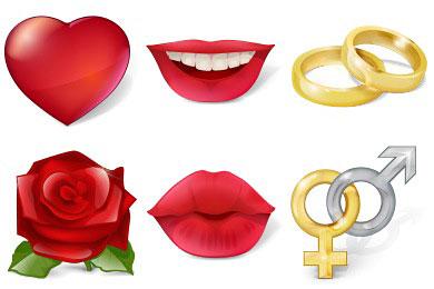 Перейти на Free Large Love Icons