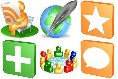 Перейти на 3D Social Icons
