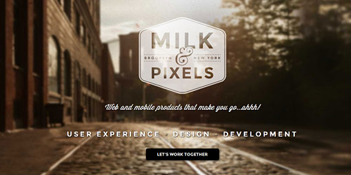 Перейти на Milk And Pixels