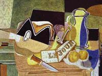 Пространственные структуры и образы от художника Жорж Брак