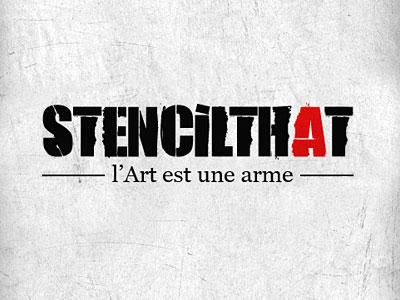 Logo stencilthat