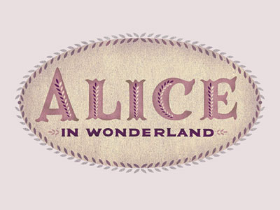 Alice in Wonderland logo