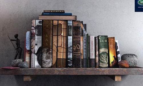 Перейти на Land Rover: Bookshelf