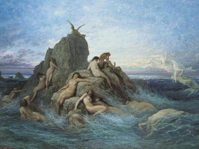 Перейти на Океаниды