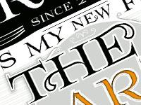 Скачать бесплатно 20 новых декоративных шрифтов за май