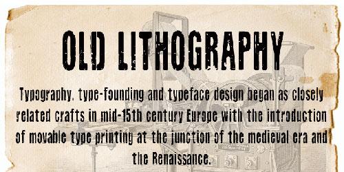 Скачать Cf Old Lithography