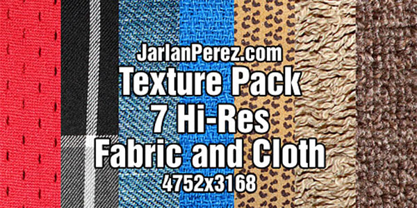 Скачать Texture Pack Fabric And Cloth