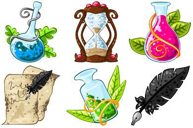 Скачать Fantasy Mediaeval Icons