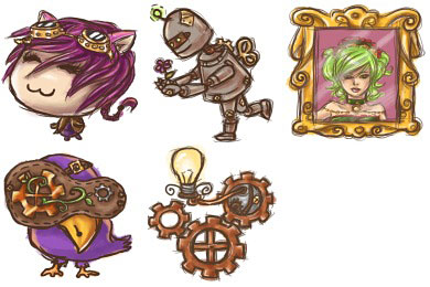 Скачать Steampunk Icons
