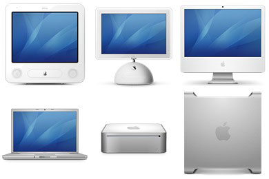 Скачать Historic Mac Icons