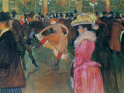Перейти на At The Moulin Rouge The Dance, 1890