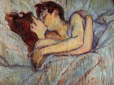 Перейти на In Bed The Kiss, 1892