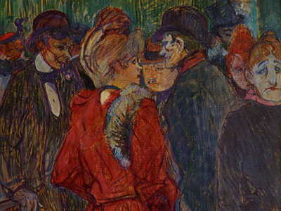 Перейти на At The Moulin De La Galette, 1891
